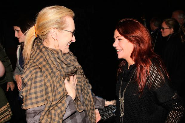 Hollywood royalty Meryl Streep was bowled over by Rachel on Broadway