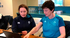 Ireland nutritionist Ruth Wood-Martin is a key part of Joe Schmidt's extensive backroom team