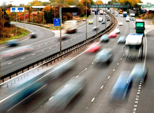 Gardai have appealed for motorists to slow down during ongoing road works on one of the country's busiest motorways after a number of serious incidents in recent days. Stock Photo: Rui Vieira/PA Wire