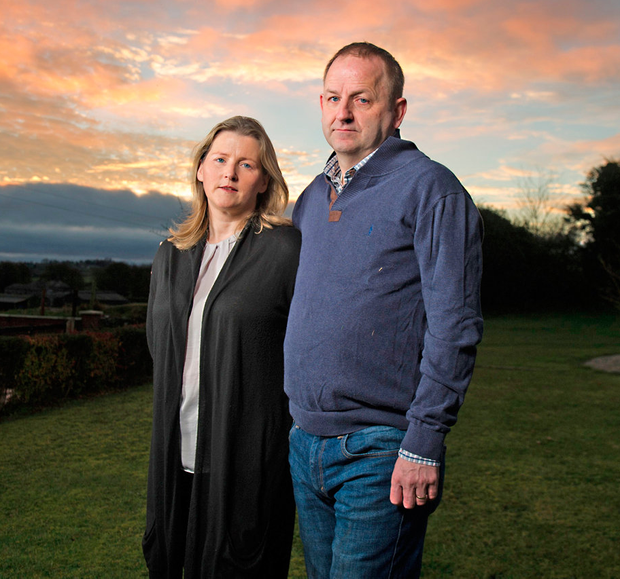 Dignity: Maurice McCabe and wife Lorraine endured a harrowing 12 years that Mr Justice Peter Charleton helped bring to an end with his report