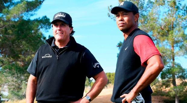 Mickelson's $200,000 miss in showdown with Woods