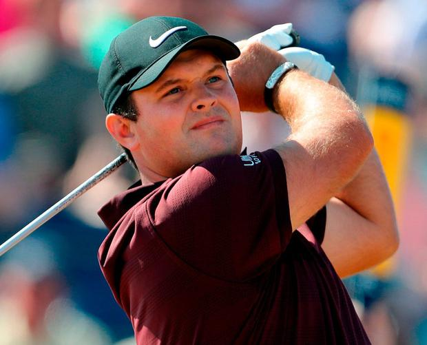 Patrick Reed. Photo: Richard Sellers/PA Wire.