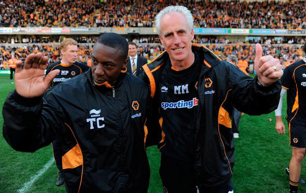 Mick McCarthy and his long time assistant Terry Connor will hope to have plenty to smile about when they take on their roles within the Ireland set-up. Photo: Michael Regan/Getty Images