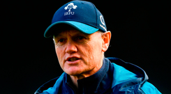 Ireland rugby's head coach Joe Schmidt may be heading back to New Zealand. Photo: David Fitzgerald/Sportsfile
