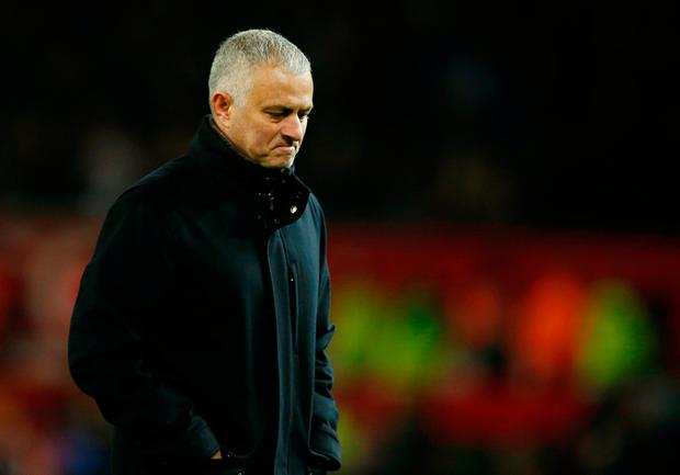 Manchester United manager Jose Mourinho is under pressure after overseeing the club's worst start to a season in 28 years REUTERS/Andrew Yates