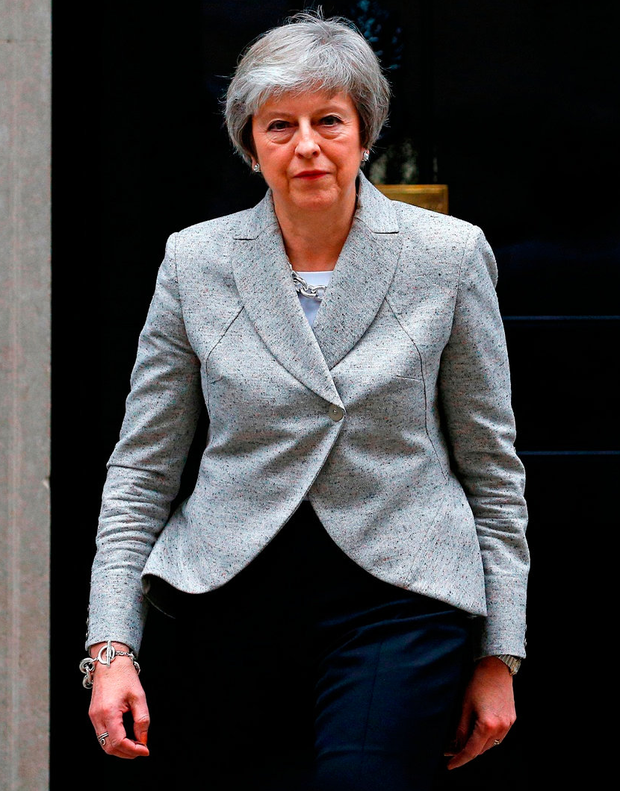 It could be a case of second time lucky on deal for Theresa May in the House of Commons. Photo: Reuters