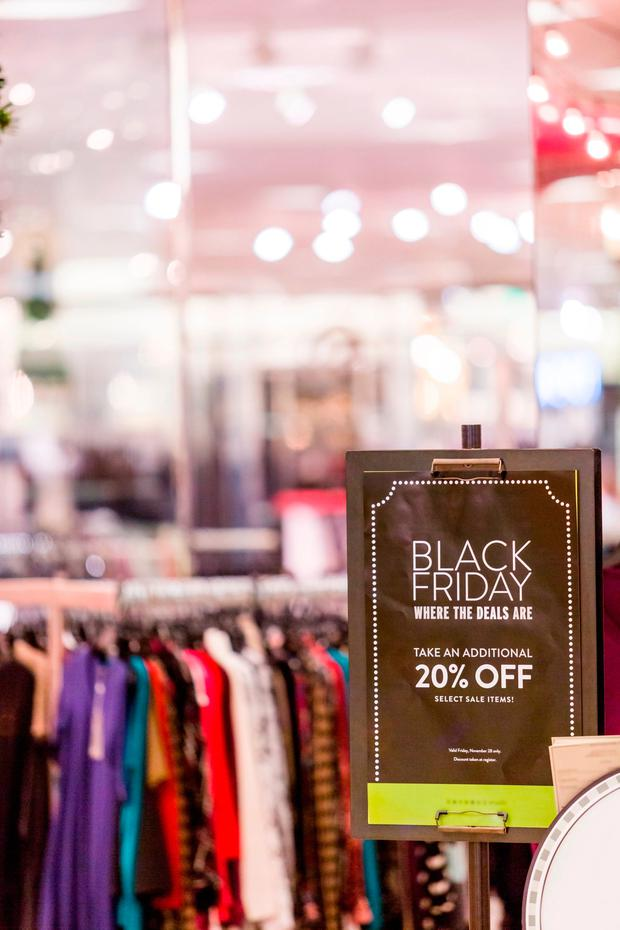 Black Friday is more evident in Irish cities, towns and shopping malls than ever before
