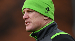 Paul O'Connell: 'Rugby needs to have expert vigilance over legal painkilling medication'. Photo: Sportsfile