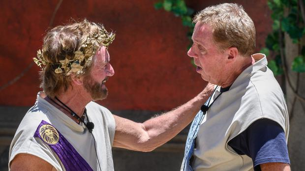 I'm A Celeb fans dub Noel Edmonds and Harry Redknapp 'best duo ever' (James Gourley/ITV/REX/Shutterstock)