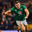 Ireland's Jacob Stockdale. Photo: Sportsfile