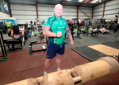 CHAMP: Pa O'Dwyer won the title of UK's Strongest Man. Picture: Brendan Gleeson