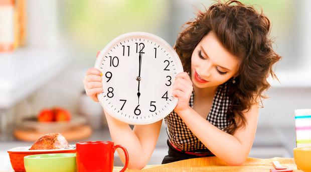 Eat your meals within a eight-hour timeframe