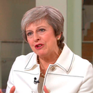 British Prime Minister Theresa May. Picture: Sky News/PA