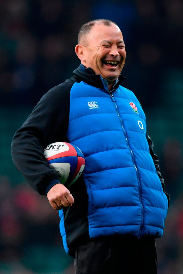 """Jones: """"The referee said it was good. When he says it's not good, we'll have a chat about it."""" Photo by Shaun Botterill/Getty Images"""
