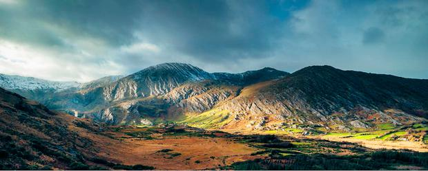 Captivating: Norman McCloskey has spent three years capturing photographs of the Beara Peninsula, including spectacular rugged landscape and coastal images