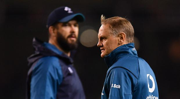 Andy Farrell to take over from Joe Schmidt after next year's World Cup