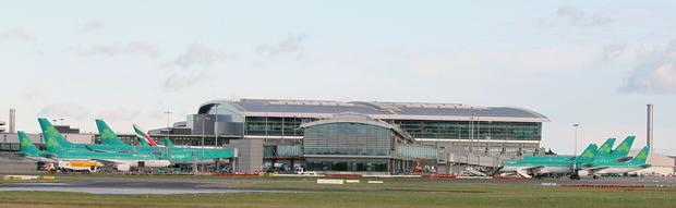 The man (60s) died in a workplace accident at Dublin Airport on Saturday.