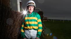 Barry Geraghty says 'nothing compares to blitzing over the last two fences'. Photo: Patrick McCann
