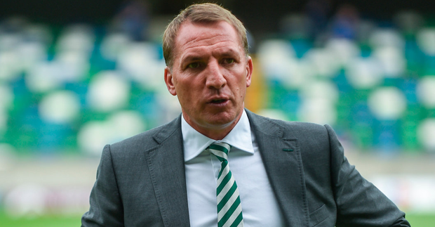 """Rodgers: """"I think it's a little bit unfair on the Celtic support."""" Photo by David Fitzgerald/Sportsfile"""