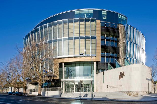 The Criminal Courts of Justice on Parkgate Street, Dublin (Stock photo)