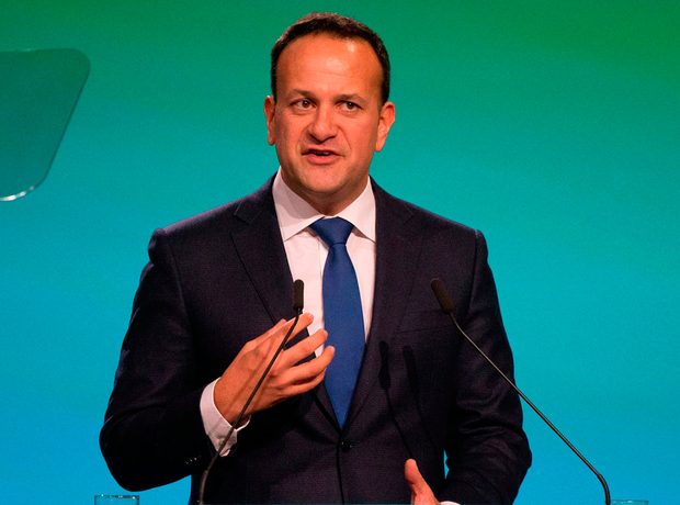 'Taoiseach Leo Varadkar suggested if Sinn Féin members felt they could not take up their seats, they should consider resigning ahead of a vote on the Brexit deal.' Photo credit: Tom Honan/PA Wire