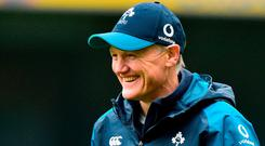 Joe Schmidt. Photo: Matt Browne/Sportsfile