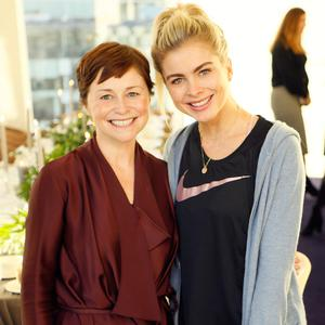 Roisin O'Sullivan and Jess Redden at The Marker Hotel's Presidential Suite to launch the new range of advanced skincare technology treatments to the hotel's award-winning spa. Picture: Kieran Harnett