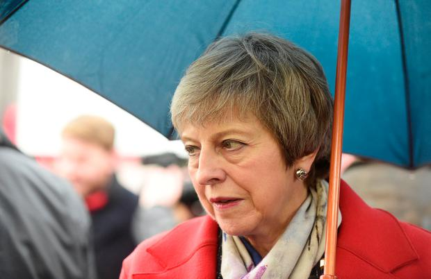 Thick skin: Theresa May can handle the heat – but still faces a battle to get a deal ratified. Photo: REUTERS/Rebecca Naden