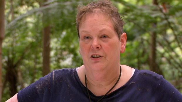 """Anne Hegerty has been hailed as """"braver"""" than when she first entered the camp (ITV/REX/Shutterstock)"""