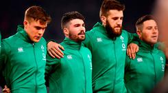 Roaring success: The Irish rugby side have set an example for the country North and south. Photo: Ramsey Cardy/Sportsfile
