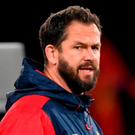 Andy Farrell. Photo: Stephen McCarthy/Sportsfile