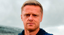Ex-Ireland international Damien Duff. Photo: Sportsfile