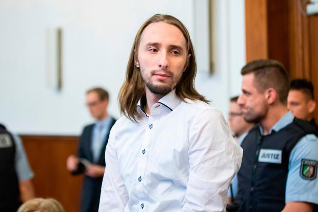 A court in Dortmund found Sergej Wenergold (29) guilty of 28 counts of attempted murder after he detonated three explosive devices while the Borussia Dortmund team coach was en route to a Champions League fixture last year. Marcel Kusch/dpa via AP