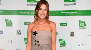 Holly White on the red carpet at the An Post Irish Book Awards. Picture: G.McDonnell/VIPIreland.com