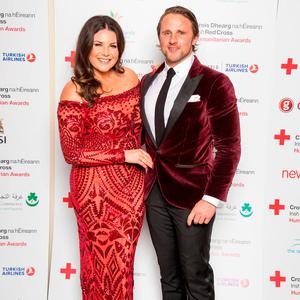 Lisa Cannon and Richard Keatley at the Irish Red Cross Humanitarian Awards Ball. Picture: Conor Healy / Picture It Photography