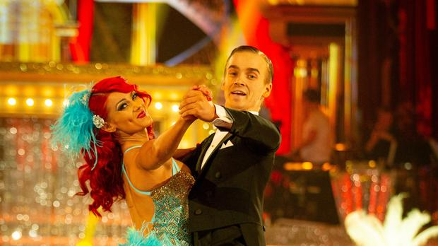 Dianne Buswell and Joe Sugg on Strictly (BBC)
