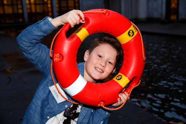Finn Bell Ryan (pictured), Mark Cullinane and Kelvin Kearns all received 'Just In Time' awards from Irish Water Safety for their efforts. Photos: Mark Condren