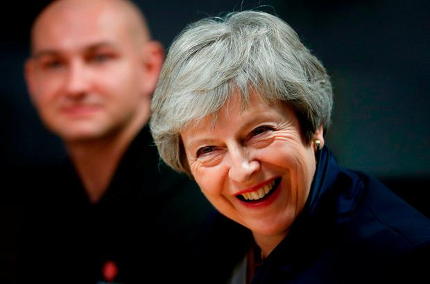 Theresa May: She said 'people's vote' would put deal back to the start. Photo: Getty Images