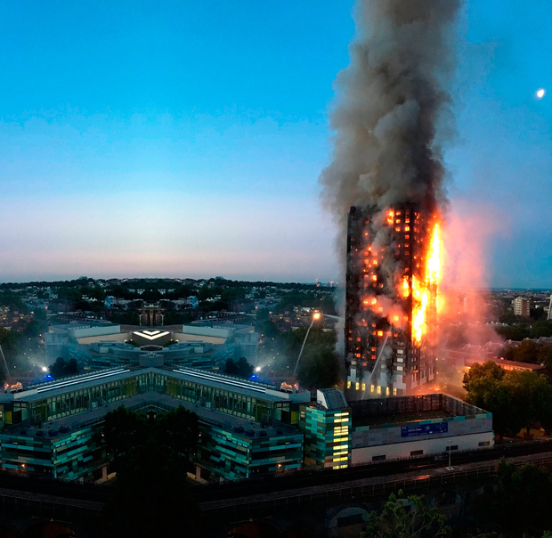72 people died in the blaze. Photo: Getty