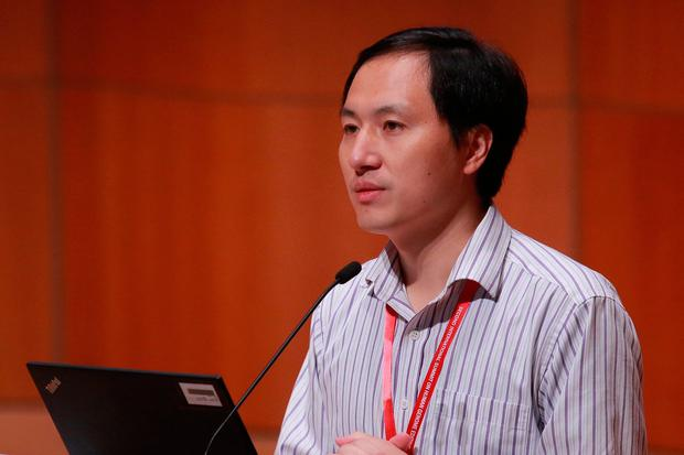 He Jiankui: Claims he has delivered two genetically edited infants. Photo: Reuters