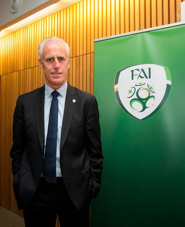 Optimism: What if Mick McCarthy takes us to the semi-finals of the Euros? Photo: Gareth Chaney Collins