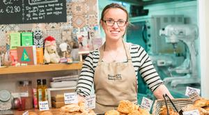Thriving: Rebecca Biswell's Becca's Bakery is flourishing in Westport, Co Mayo. Photo : Keith Heneghan