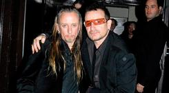 Bono and Guggi at Lillie's in 2006