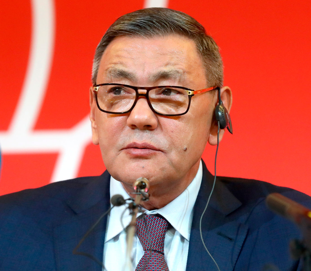 Controversial new AIBA president Gafur Rakhimov. Photo: Stanislav Krasilnikov\Getty Images