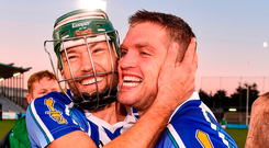 The likes of David Curtin and Conal Keaney will have to be at their best if the Dublin champs are to beat Ballyhale Shamrocks. Photo by Sam Barnes/Sportsfile