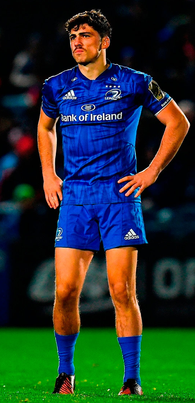 PROMISING: Jimmy O'Brien is poised to make his competitive debut for Leinster off the bench. Photo: Seb Daly/Sportsfile