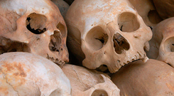 Sanjay Prasad, was carrying 16 human skulls and 34 skeletal remains in his luggage. (Stock picture)