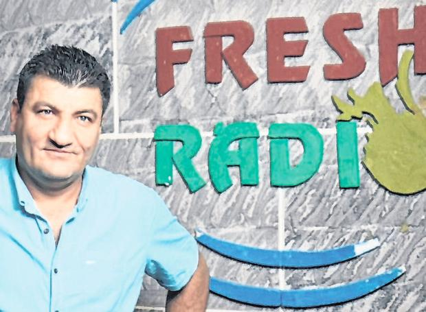 Murdered: Syrian opposition activist Raed Fares of Radio Fresh