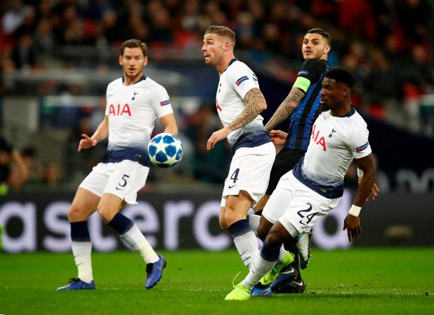 Toby Alderweireld: 'We can improve'. Photo: Julian Finney/Getty Images