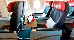 Premium economy on Air Canada Rouge, which will fly next summer to Montreal and Vancouver